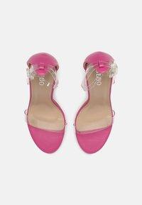 BEBO - PHOEBE - High heeled sandals - clear - 4