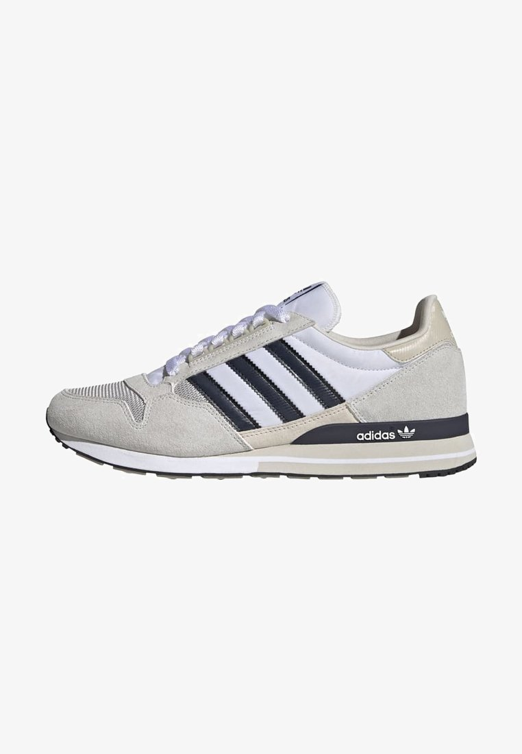 adidas Originals - ZX 500 UNISEX - Sneakers basse - ftwr white legend ink grey one