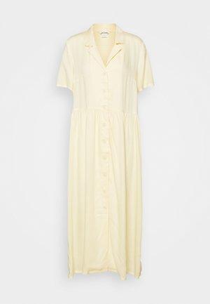 MATTAN DRESS - Shirt dress - yellow dusty light
