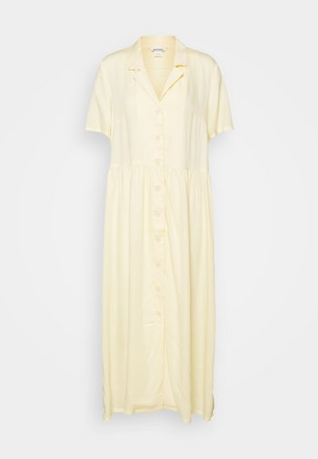 Maxi dress - yellow dusty light