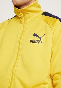 Puma - ICONIC TRACK - Zip-up hoodie - sulphur - 3
