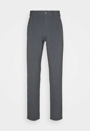 SUNDAY TROUSERS - Pantalones - grey melange
