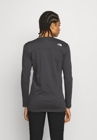 The North Face - WOMENS SIMPLE DOME TEE - Bluzka z długim rękawem - asphalt grey - 2