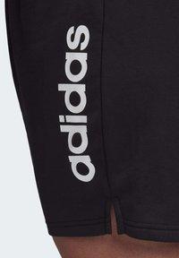 adidas Performance - ESSENTIALS INCLUSIVE SIZING SHORTS - Korte sportsbukser - black - 4