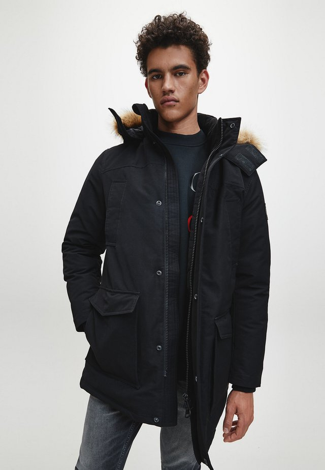 Down coat - ck black