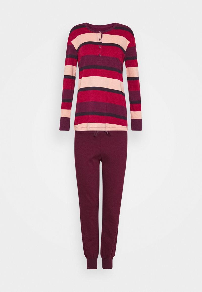 Schiesser - ANZUG LANG - Pyjama set - pflaume