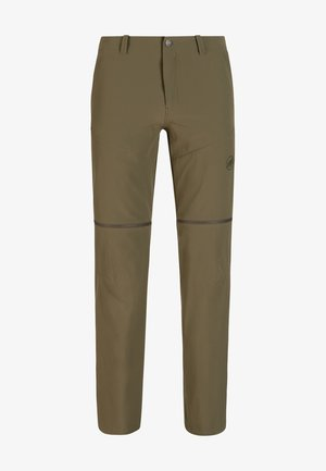 RUNBOLD ZIP OFF - Outdoor trousers - iguana