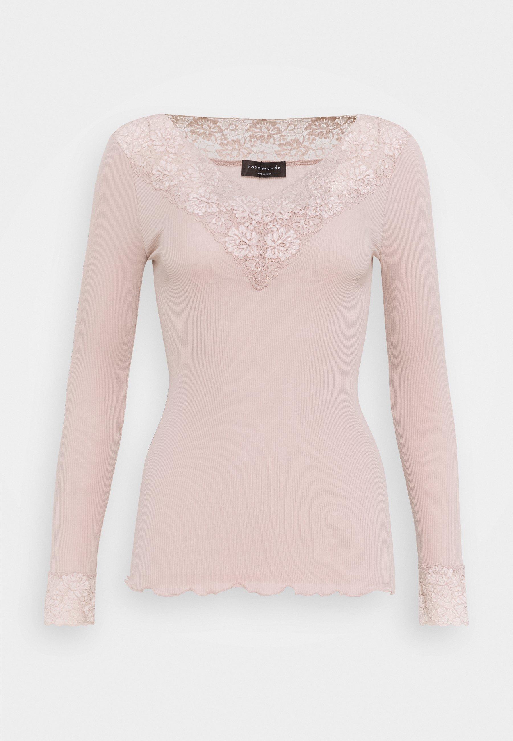 Women ORGANIC V-NECK REGULAR - Long sleeved top