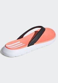 adidas Performance - COMFORT FLIP-FLOPS - T-bar sandals - black - 4