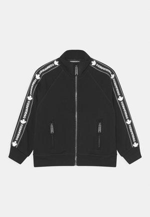 UNISEX - Zip-up sweatshirt - black