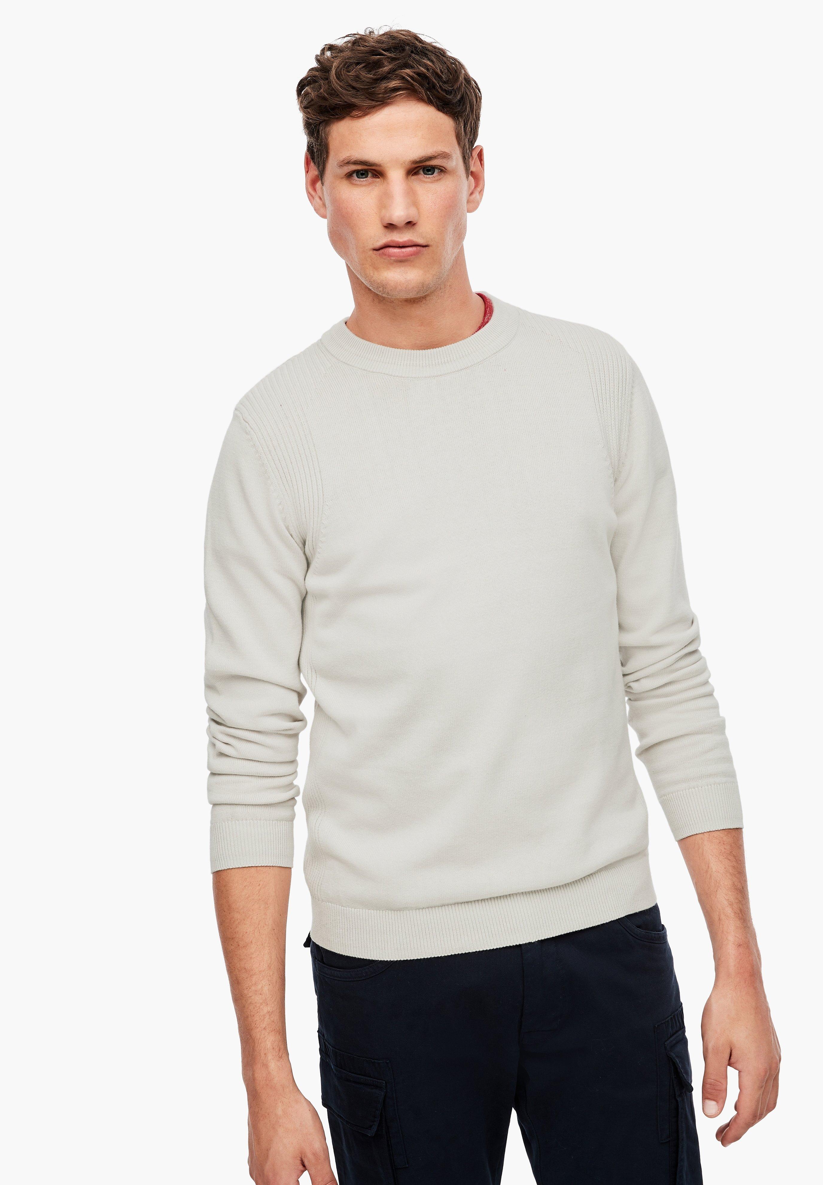 Homme MIT STRICKMUSTER - Pullover