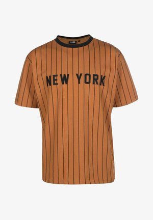 Pinstripe - T-shirt imprimé - tofblk