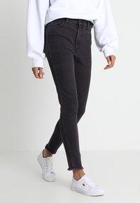 Levi's® Line 8 - L8 HIGH SKINNY - Jeans Skinny Fit - l8 byzantium stonewash - 0