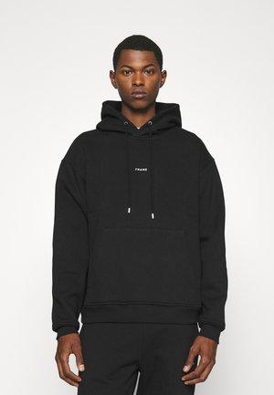 FRAME HOODIE - Sweatshirt - noir