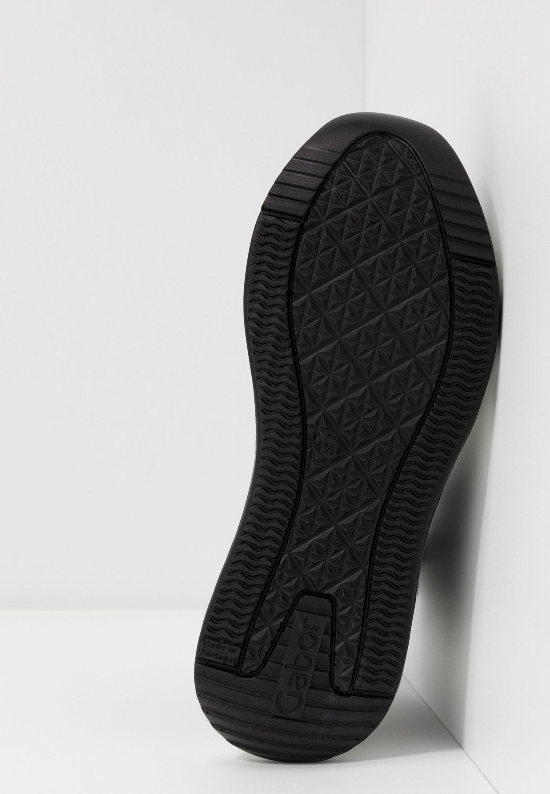 Gabor Höga sneakers schwarz/weiß