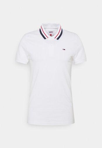 CLASSICS TIPPED STRETCH - Poloshirt - white