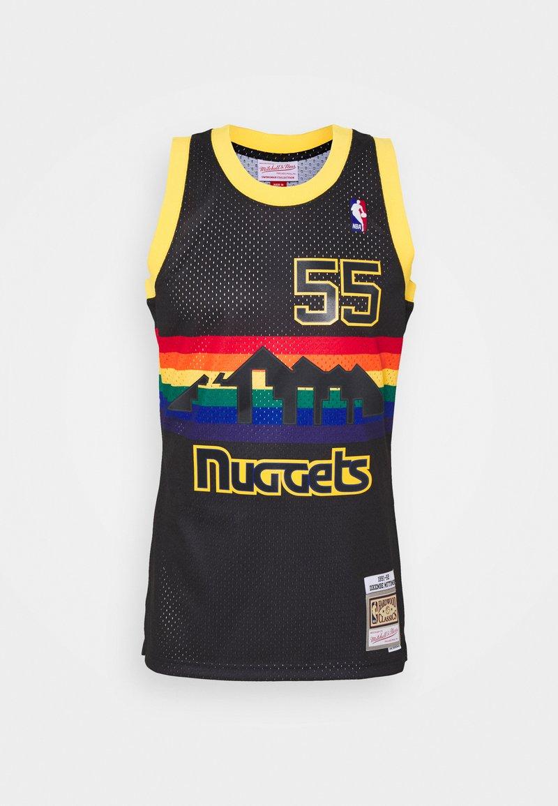 Mitchell & Ness - NBA DENVER NUGGETS RELOAD SWINGMAN DIKEMBE MUTOMBO - Club wear - black