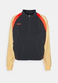 FC - Training jacket - black/melon tint/habanero red