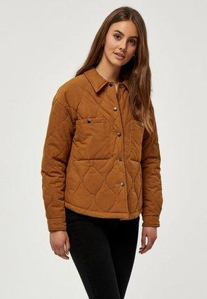 Lehká bunda - rubber brown