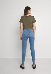 Levi's® - MILE HIGH SUPER SKINNY - Jeans Skinny Fit - naples fade - 0