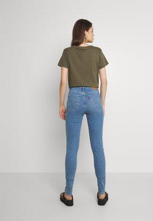 MILE HIGH SUPER SKINNY - Jeans Skinny Fit - naples fade