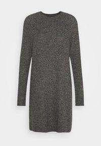 ONLY - ONYSALLIE DRESS - Jumper dress - dark grey melange - 4