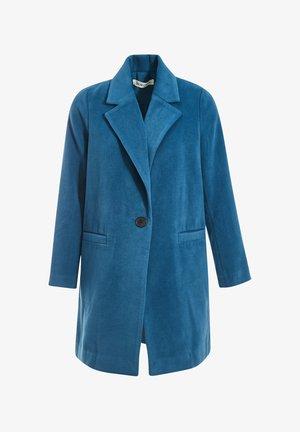 Classic coat - bleu canard