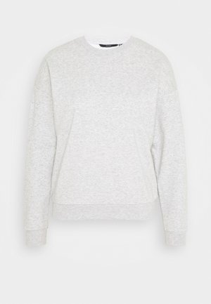 VMELLA BASIC  - Sweatshirt - light grey melange