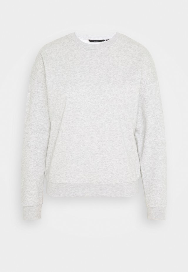 VMELLA BASIC  - Sweatshirt - light grey melange