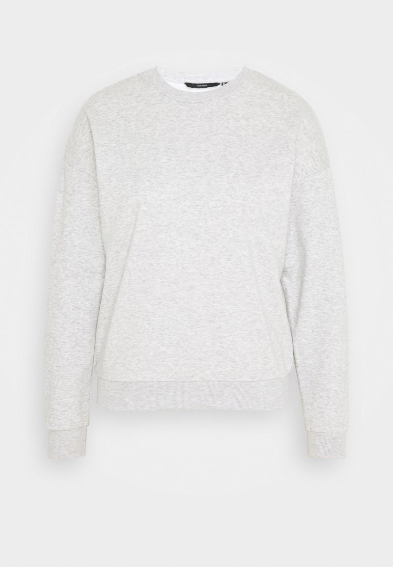 Vero Moda - VMELLA BASIC  - Sweatshirt - light grey melange