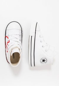 Converse - CHUCK TAYLOR ALL STAR - High-top trainers - white/university red - 1
