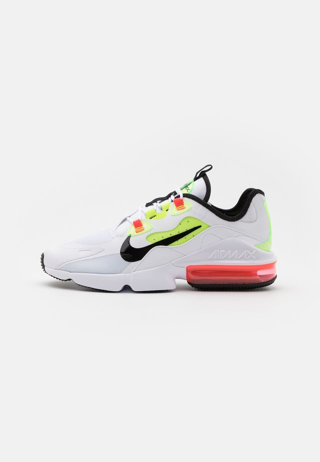 AIR MAX INFINITY 2 AMD - Baskets basses - white/black/bright crimson/volt