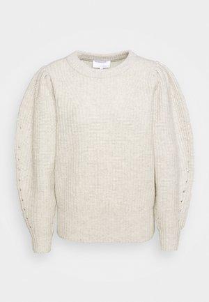 SILVIA SLEEVE - Sweter - light grey melange