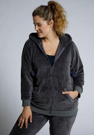 HOMEWEAR - Fleece jacket - gris foncé