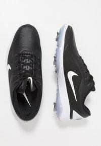 Nike Golf - REACT VAPOR  - Golfskor - black/metallic white - 1