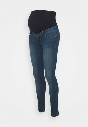 CLINT DELUXE SEAMLESS - Jeansy Skinny Fit - medium wash denim