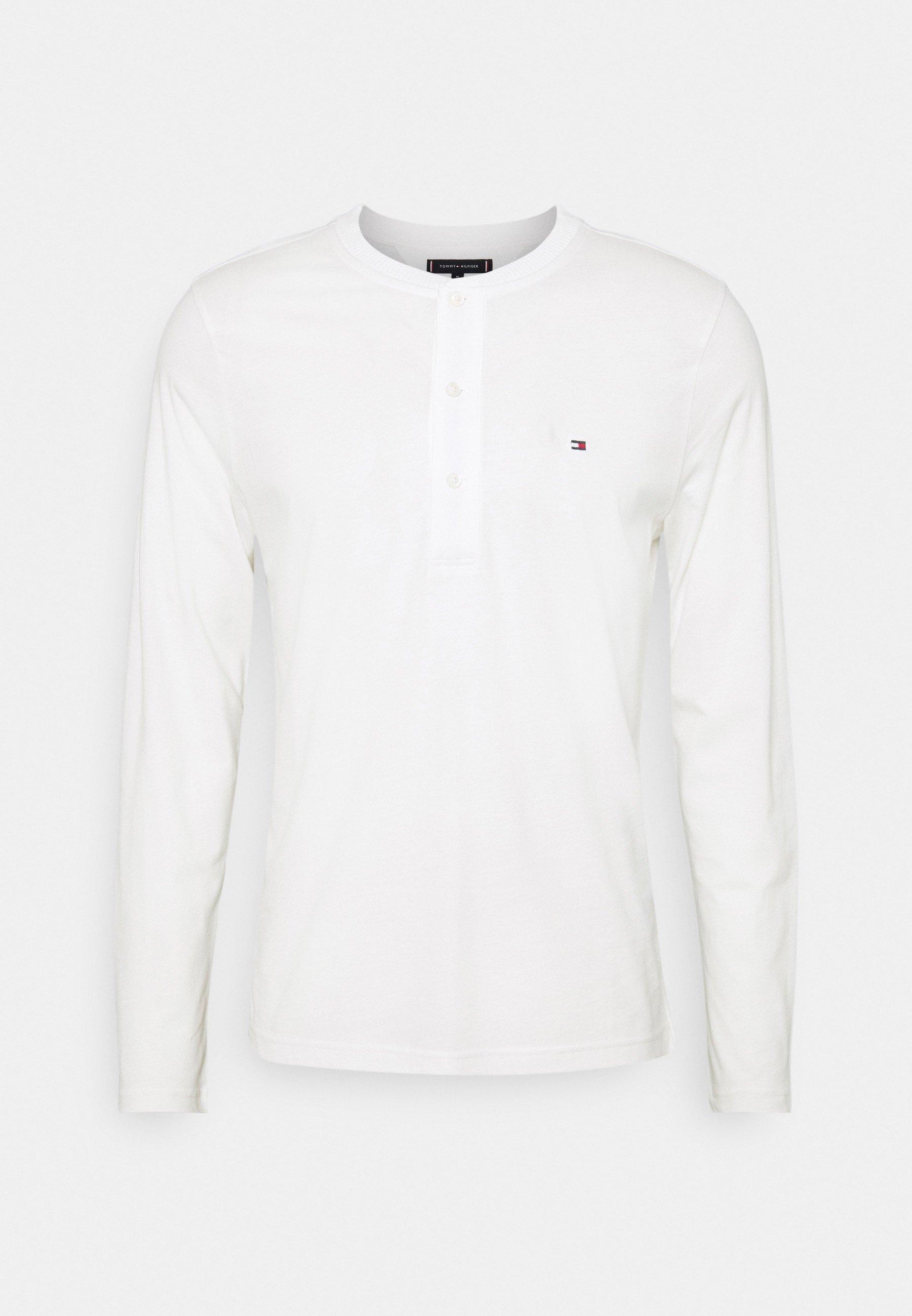 Men CLASSIC HENLEY - Long sleeved top