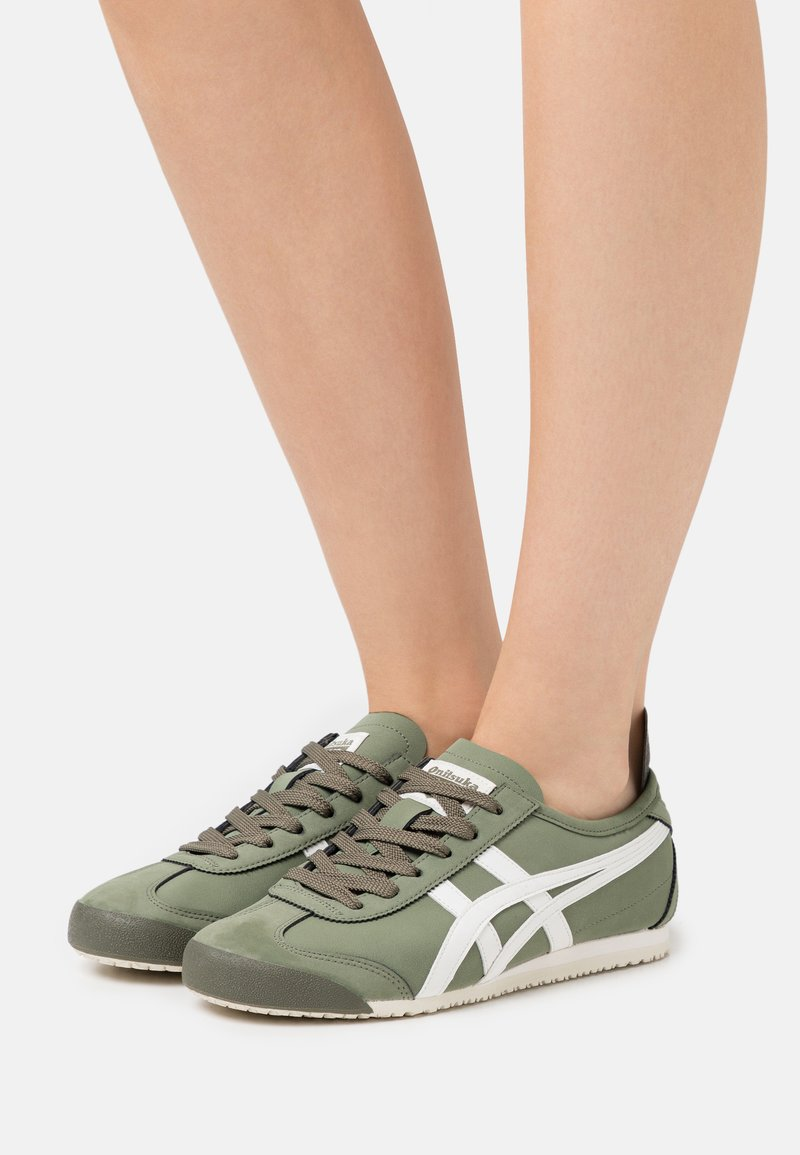 Onitsuka Tiger - MEXICO 66 - Sneakers basse - mantle green/cream