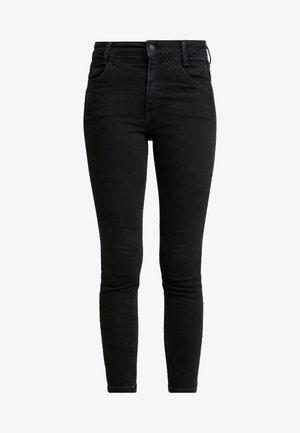 RILEY SEAMED - Jeans Skinny Fit - black