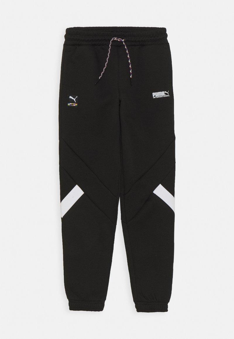 Puma - TRACK PANTS - Trainingsbroek - black