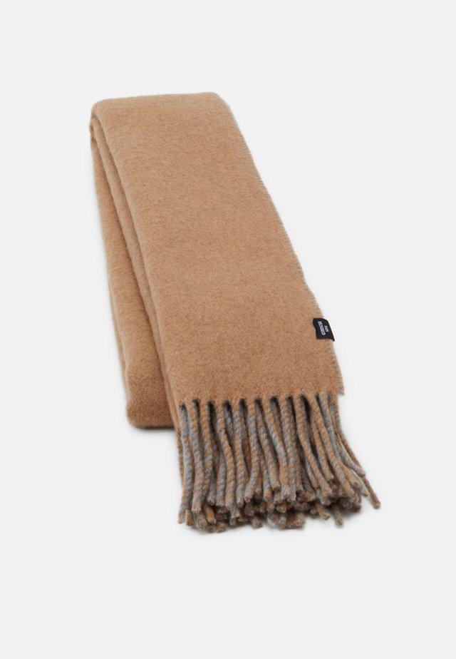 VANESSA DOUBLE - Huivi - camel/grey melange