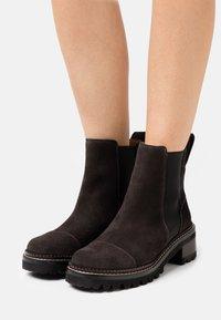 See by Chloé - MALLORY BOOTIE - Kotníkové boty - charcoal - 0