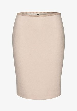 KASCHMIR - Pencil skirt - sand
