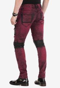 Cipo & Baxx - Jeans Skinny Fit - burgundy - 2