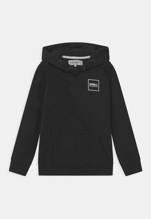 KAPORAL LOGO HOODIE - Sweatshirt - black