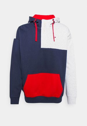 COLORBLOCK HOODIE - Sweater - twilight navy/multi
