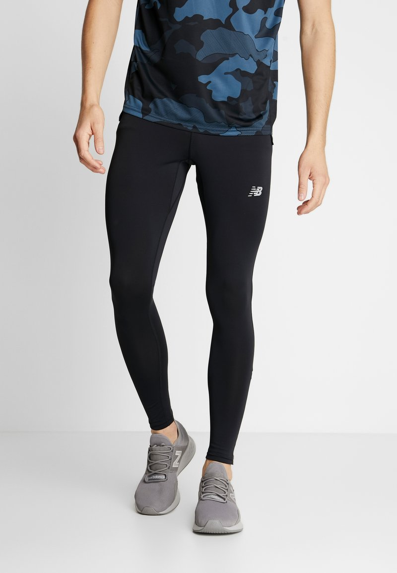 New Balance - PRINTED ACCELERATE - Tights - black