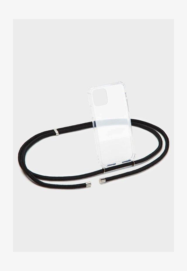 BASIC IPHONE 7/8 PLUS - Phone case - black/silber