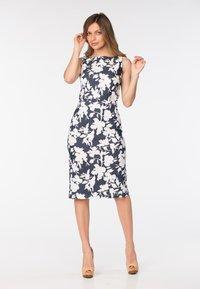 Diyas London - ADELANE - Shift dress - flower print - 1