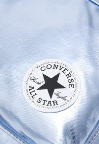 Converse - METALLICS DAYPACK UNISEX - Rucksack - light blue - 3